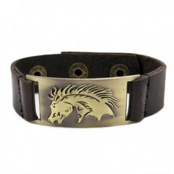 Horse Leather Bracelet- Adjustable - CI1185O5AUJ