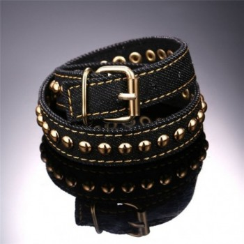 Pushpin Design Fabric Gold tone Bracelet in Women's Wrap Bracelets
