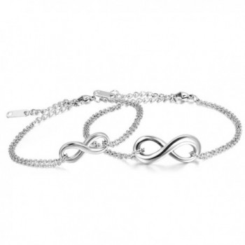 Oidea Stainless Infinity Valentines Anniversary - silver infinity - CN12H9R32U3
