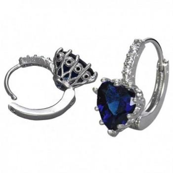 DDLBiz Women Crystal Zircon Earrings