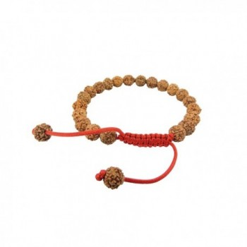 Rudraksha Seed Wrist Mala/ Bracelet for Meditation - CQ115MJ3LVV