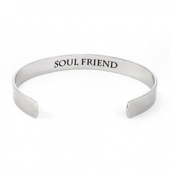 Stainless Friend Friendship Bracelet Womens