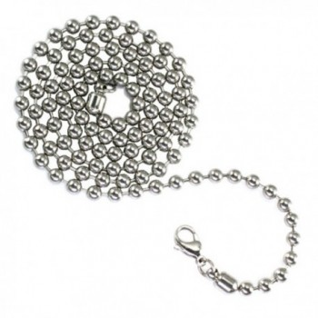 Stainless Steel 4.5mm Bead/Ball Chain - CO117ARFVFB
