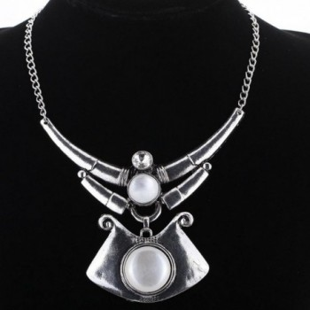 YAZILIND Ethnic Tibeatn Irregular Necklace in Women's Choker Necklaces