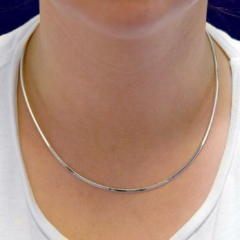 Sterling Silver Choker Necklace Handmade in Women's Choker Necklaces