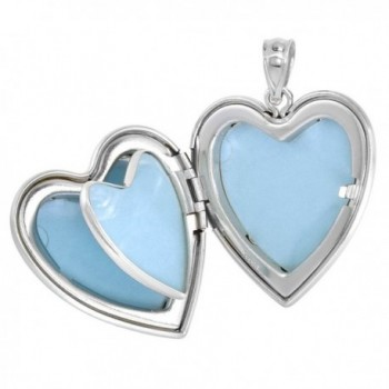 Sterling Silver Locket Necklace Picture