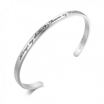 SOLOCUTE Bracelet Inspirational Christmas Thanksgiving - White Gold - CD1827MI8TK