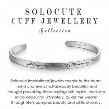 SOLOCUTE Bracelet Inspirational Christmas Thanksgiving
