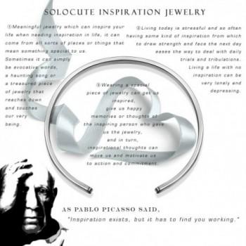 SOLOCUTE Bracelet Inspirational Christmas Thanksgiving in Women's Stretch Bracelets