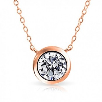 Bling Jewelry Pendant Plated Necklace