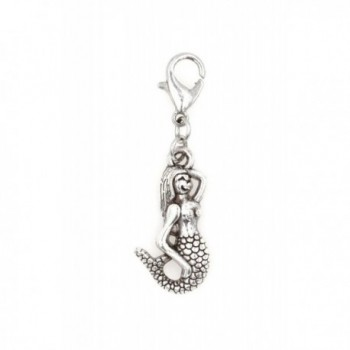 STAINLESS STEEL Clasp and Jump Rings Mermaid Clip On Charm Bead Perfect for Necklaces or Bracelets. - CK12KBNF1IX