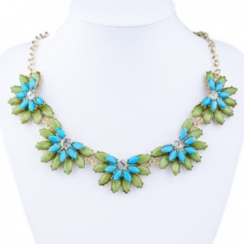 BriLove Fashion Austrian Bohemian Necklace