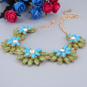 BriLove Fashion Austrian Bohemian Necklace in Women's Choker Necklaces