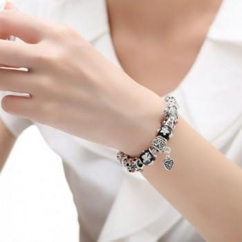 Presentski Jewelry Sterling Silver Bracelet in Women's Charms & Charm Bracelets