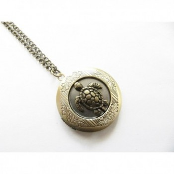 Personalized Turtle Necklace Jewelry Pendant
