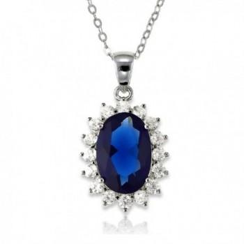 Sterling Sapphire Tanzanite Princess Middleton - Blue Sapphire - C8118R32V0V
