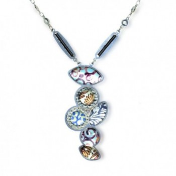 Frozen-Margarita Fashion Necklace- from The Artazia Spring-Summer Collection - N3307 - CY11JP7Q0LJ