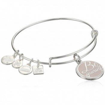 Alex and Ani Charity by Design- UNICEF Peace Bangle Bracelet - Shiny Silver - CK187DWUA5G