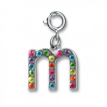 CHARM IT! Rainbow Initial Letter Charms - M - CD114YMCZLT