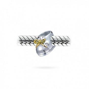 Bling Jewelry Sterling European Bracelet